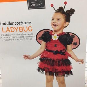 Other - Ladybug Toddler Girls Costume Size 3-4T